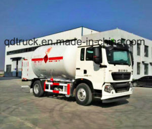 LPG Gas Recharge Truck, Mobile LPG Mounted Skid Station, LPG recharge truck pictures & photos