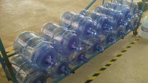 5 Gallon Water Bottle Semi Automatic Pet Stretch Blow Moulding Machine pictures & photos