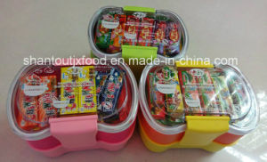 Lunch Box Chewing Gum with Tattoo 60 PCS pictures & photos
