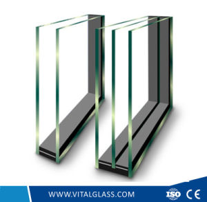 Safety Blue Grey Low-E Glass for Building Glass (L-E) pictures & photos