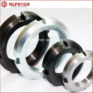 Round Thin Nuts with Slotted DIN981 DIN1804 pictures & photos