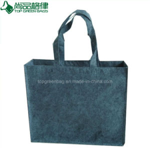 Environmentally Friendly Custom Grey Felt Shopping Tote Bag Felt Hand Bag pictures & photos