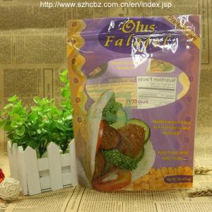 FDA Printed Stand up Plastic Foil Snack Bag (L)