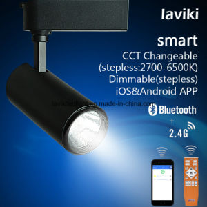 2.4G RF Wireless Remote Control Dimmable LED Track Light 8W pictures & photos