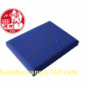 Fiberglass Wool Acoustic Panel Decoration Panel Board Sheet pictures & photos