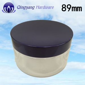 89mm Aluminum-Plastic Screw Cap for Cosmetic Cream Jar &Food pictures & photos