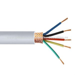 PVC Insulated Flexible Braided Screen Copper Control Cable pictures & photos