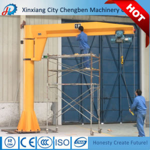 Small Size Electric Hoist Jib Crane 1 Ton for Workshop pictures & photos
