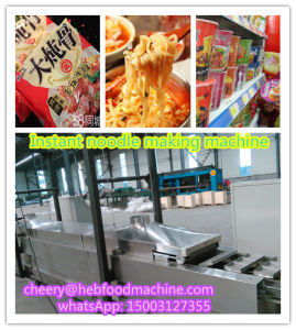 China Hot Sell Industrial Customized Frying Instant Noodle Making Line pictures & photos