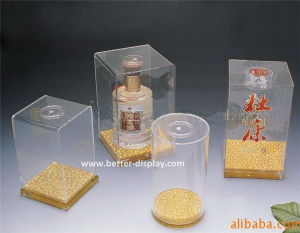 Clear Acrylic Fungus Box Food Packing Box (BTR-Y3015) pictures & photos