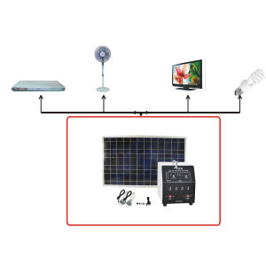 Discharge Protection Solar Home Kits System India Pakistan Dubai Africa pictures & photos