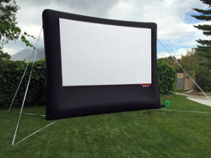 Open Air Movies Backyard Screen Inflatable Projection Screen for Sale pictures & photos
