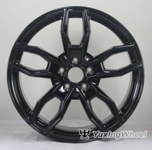 20X8.5 Inch New Design Black Alloy Wheels for Sale pictures & photos