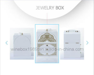 Middle East Style Luxury MDF Wooden Jewelry Packing Box pictures & photos