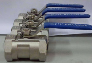 Bw, Thread, Sw 1PC One Piece Ball Valve pictures & photos