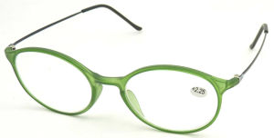R17028 Round Frame Glasses, Metal Temple Reading Glasses pictures & photos