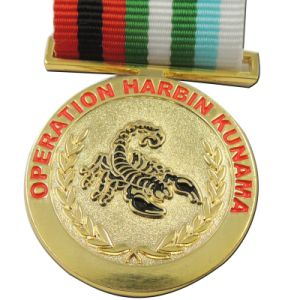 BSCI Factory Free Sample Solider Honor Emblem Medal for Sales (XD-0706-5) pictures & photos