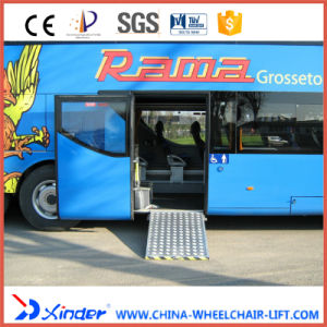 Electric Wheelchair Ramp for Low-Floor City Bus pictures & photos
