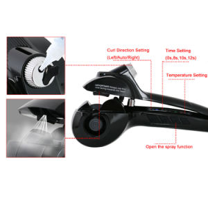 Steam 2017 Hot Auto Hair Curler Ceramic pictures & photos