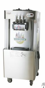 Ce Certificate Approved Italy Compressor Air Pump Soft Serve Ice Cream Machine pictures & photos