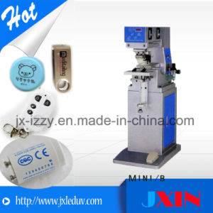 Mini Double Color Pad Printing Machine with Shuttle Plate pictures & photos