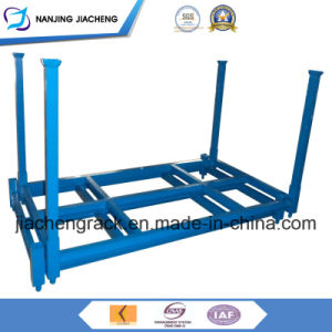 Heavy Duty Powder Coated Foldable and Stackable Rack for Tires pictures & photos