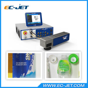 Non-Contact Fiber Laser Printer for Static Coding (EC-laser) pictures & photos