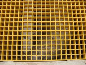 GRP Fiberglass Reinforced Plastic Walkway Grating pictures & photos