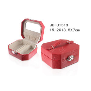 Graceful Rhythm Leather Small Jewelry Box /Travel Case pictures & photos