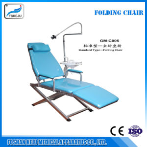 2017 New Folding Dental Chair with Light pictures & photos