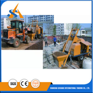 High Quality High Efficiency Concrete Pump with Mixer pictures & photos