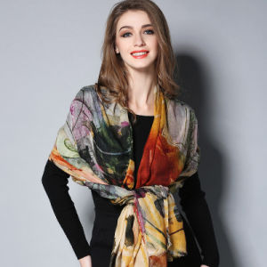 Digital Printing Scarf Shawl for Women pictures & photos