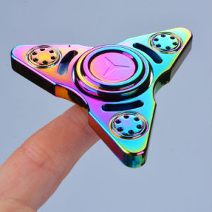 Newest Three Pointed Russia Rainbow Fidget Finger Spinner Hand Spinner pictures & photos