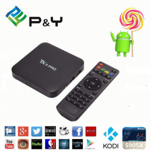 P&Y 2016 Hot Tx3 PRO Kodi 17.0 802.11 B/G/N Android 6.0 TV Box 1GB 8GB Amlogic pictures & photos