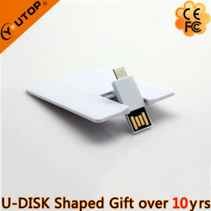 OTG Mobile Gift Rotating Credit Card USB Flash Drive (YT-3131) pictures & photos