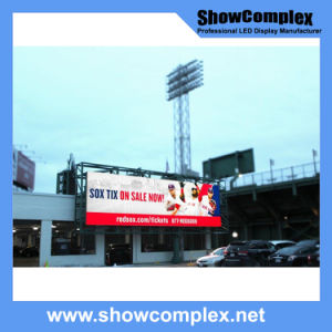 Outdoor Full Color LED Display Screen for Advertisement with Ce Certification (pH8) pictures & photos