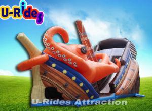 Commercial Grade Amusement park water slide Inflatable Slide pictures & photos