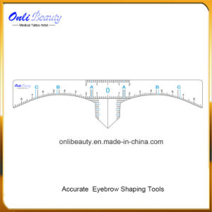 Disposable Microblading Eyebrow Design Ruler Stickers 50PCS pictures & photos
