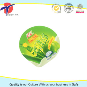 Aluminium Foil Lids Coated with PP Lacquer pictures & photos