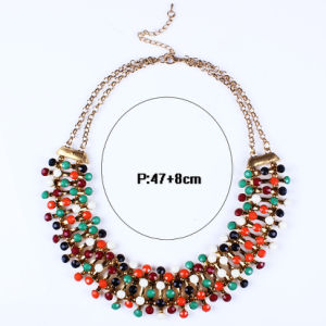 Fashion Designer Colorful Acrylic Statement Choker Necklace Jewelry pictures & photos