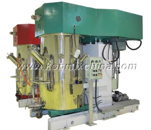 Double Shaft High Speed Mixer with Scraper pictures & photos