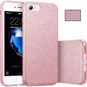 Hot Selling Mobile Phone Glitter TPU PC Bling Case Cover for iPhone7 7plus pictures & photos