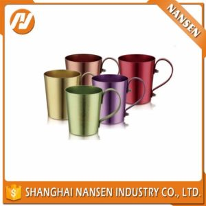 Laser Logo Copper Color Aluminum Cup Custom Logo Cup pictures & photos