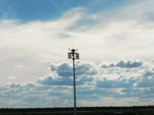 28m High Mast Lighting Usage of, Airport, Seaport pictures & photos