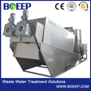 Small Footprint Screw Sludge Filter Press Sewage Treatment Plant pictures & photos