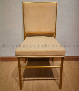 Wedding aluminum Bamboo Chair with Fixed Seat Cushion and Back Pattern pictures & photos