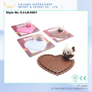 Cute Little Bear Car Mat, PVC Car Mat, Non-Slip Sticky Car Pad pictures & photos
