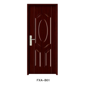 Ce High Quality Swing Interior Amercian Steel Door (FXA-W01) pictures & photos