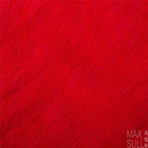 100% Wool Fabrics for Autumn with Special Hand in Red