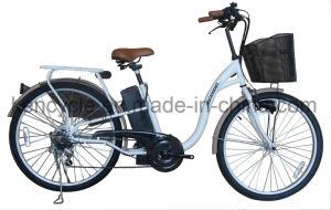 "26"" Cheap Bicicleta Electrica for Supermarket, 250W Eco-Friendly E Bike/City E-Bike (SY-E2618) pictures & photos"